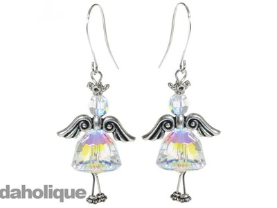 How to Make a Dancing Angel Earring Set
