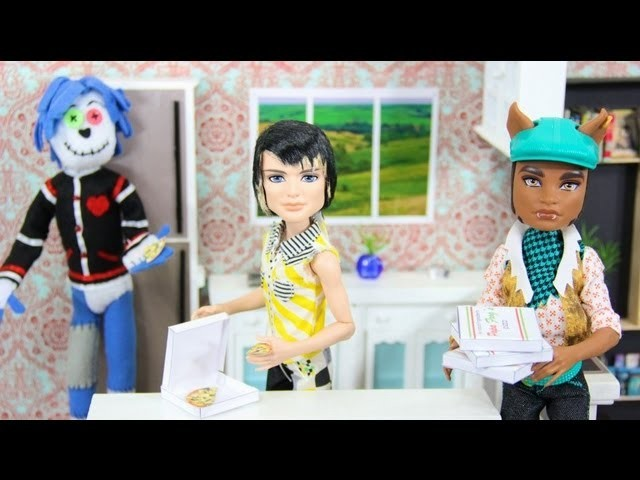 How to Make a Doll Pizza - Doll Crafts