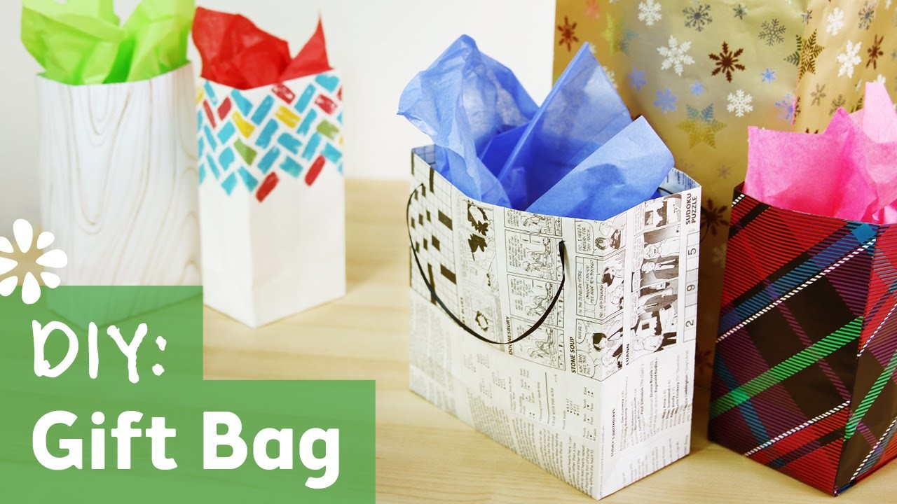 How to Make a Gift Bag