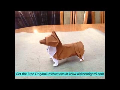 Scottie Dog Origami - Red Ted Art - Make crafting with kids easy & fun | 300x400
