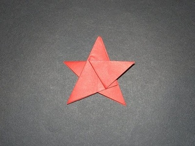 How To Make An Origami Five Pointed Star