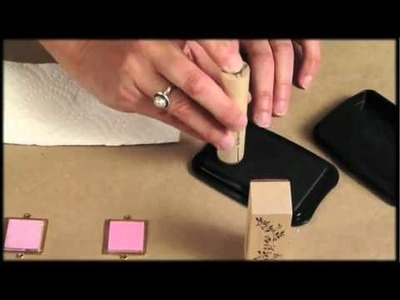 How to Use Rubber Stamps to Make Jewelry