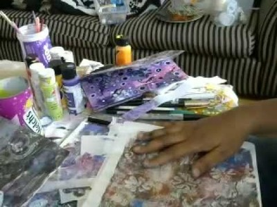 How to use Tracing paper gelli prints in mixed media art.Gelli Arts Monoprinting Plate Tutorial