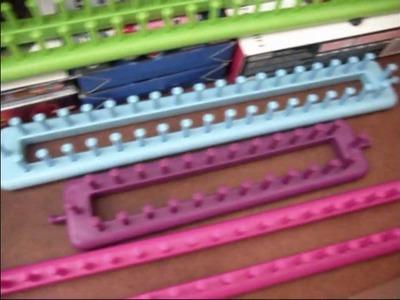 Knitting Loom Storage