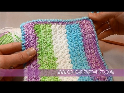 Left Hand Nitty Gritty Washcloth Free Pattern Workshop