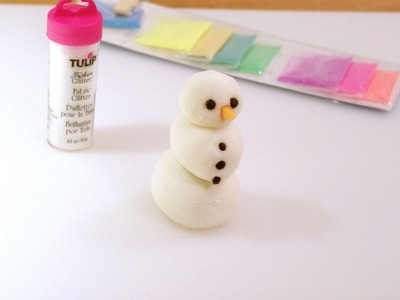 Make Peppermint Snowman Clay Dough - DIY Crafts - Guidecentral