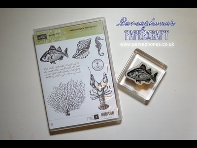 Make Stampin' Up Clear Mount Stamps Cling Well To Clear Blocks | Persephone's Papercraft