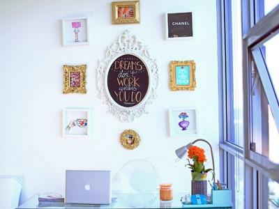 My Wall of Frames {DIY}