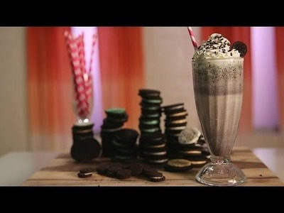 Oreo Milkshake Recipe | Dessert Ideas | Food How To