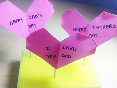 Origami Hearts - FOR FATHER'S DAY
