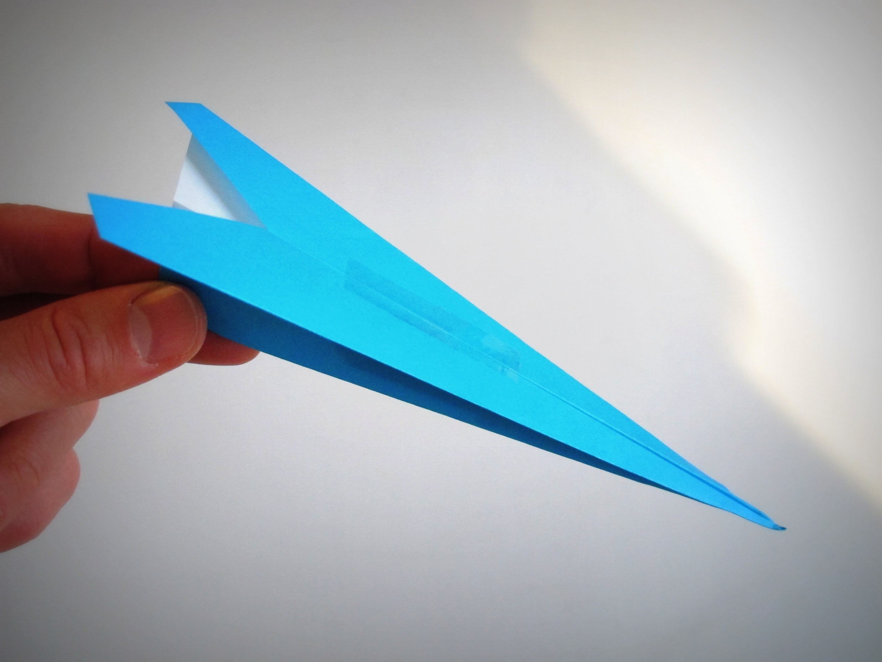 Origami - How to make a Plane