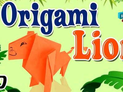 Origami - How To Make LION - Simple Tutorials In English