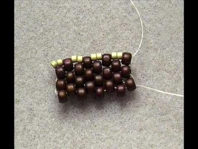 Peyote Even Count - Mixed Bead Sizes