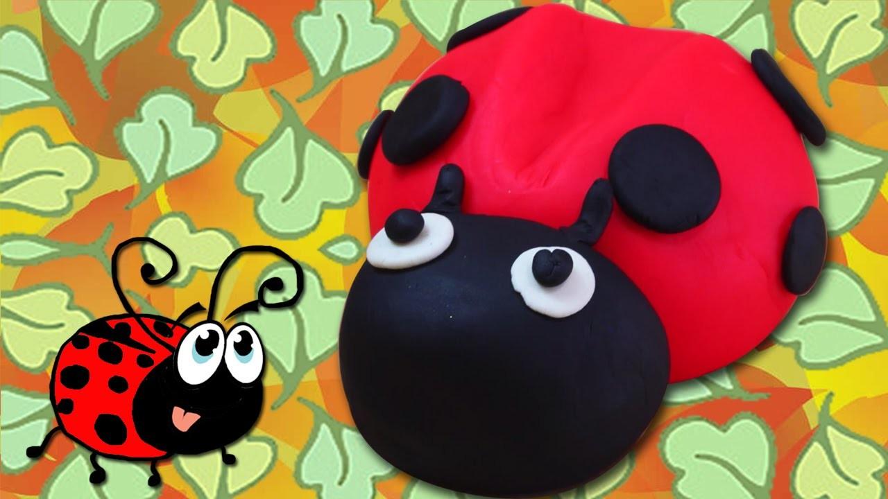 Play Doh | How To Make Play Doh Ladybug