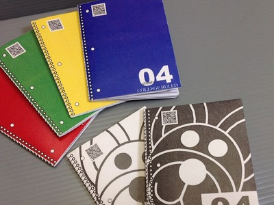 Print Your Own Origami 3-Ring Spiral Notebooks