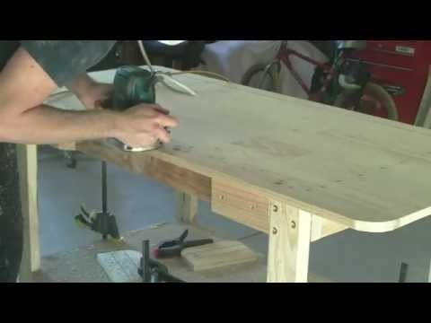 S&Scustoms-how to build the ultimate garage workbench for under $100 - diy.  part 3 of 3