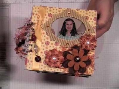 Scrapbook Mini Album for My Daughter