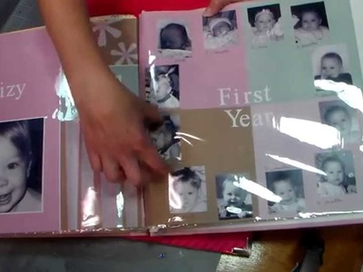 Scrapbooking Baby's First Year (pre-scrapping for twins.multiples)