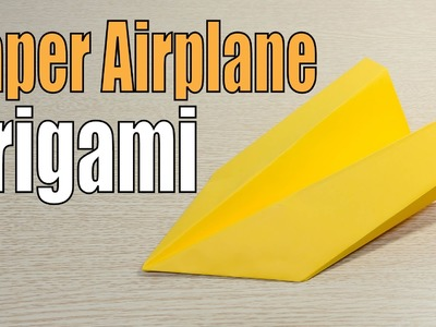 Stealth Paper Airplane Origami