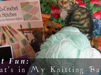 What's in My Knitting Bag?