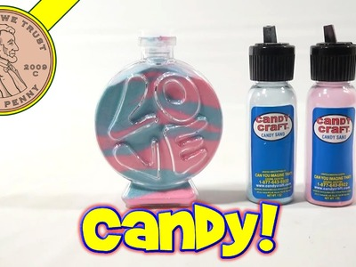 Candy Craft Candy Sand Love Bottle, Nifty Candy