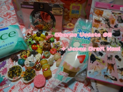 ♡Cold Porcelain Charms Update #2 + Japan Craft Haul ♡