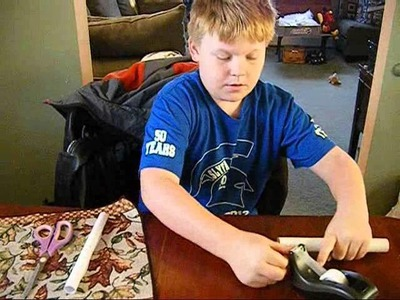 Crafts For Kids with Chris: 03 Blow Gun that shoots
