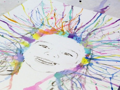 Create Fun Watercolor Art with Your Kids - DIY Crafts - Guidecentral