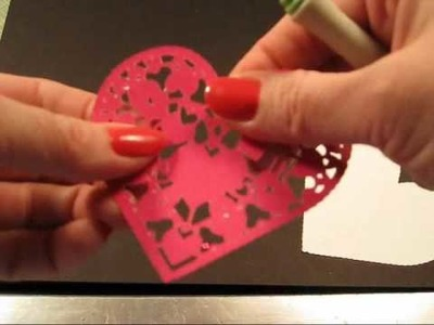 Cricut Card Ideas Using Love Struck Cricut Cartridge
