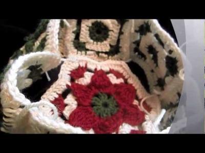 Crochet Christmas Poinsettia Hat Tutorial