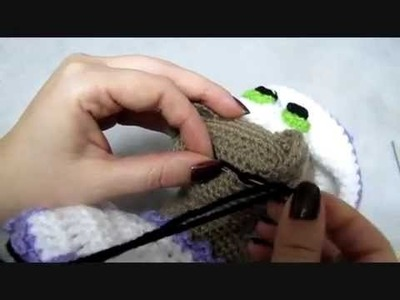 Detailed video how to embroider the mouth.