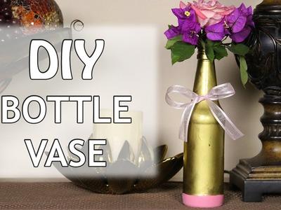 DIY Bottle Vase ♥ Mother's Day Gift Idea