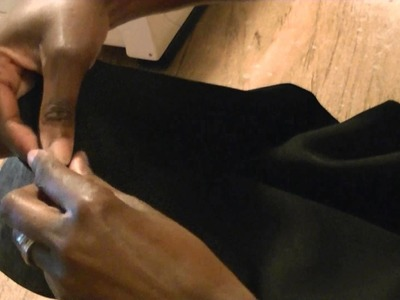 DIY Make An Adult Circle Skirt Part 2