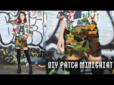 DIY Patch Miniskirt & Chictopia $100 Shopping Spree Giveaway