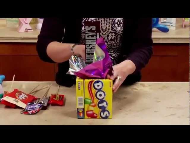 DIY Xyron Candy Bouquet
