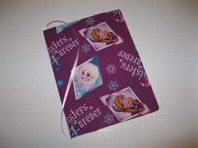 FROZEN Disney Princess Elsa Anna DIY How To Make Book Journal for School Backpack