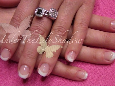 ☆★Gel nail tutorial - French infill★☆