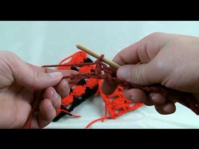 How To Crochet Boxed Block Stitch - RH