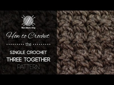 How to Crochet the Crochet 3 Together Pattern
