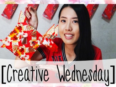HOW TO MAKE A FISH RED PACKET LANTERN! [CREATIVE WEDNESDAY] ep 5