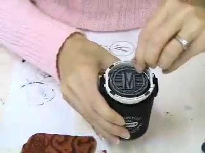 How to Make a Monogram Coaster