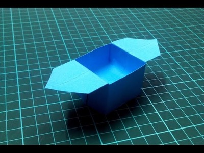 How to make an origami box - 1.