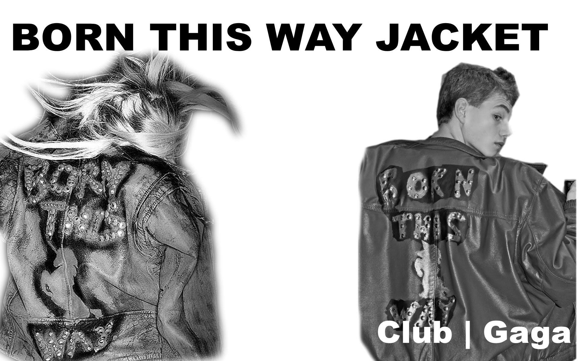 How to make Lady Gaga's BORN THIS WAY JACKET!!! - DIY