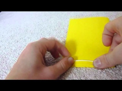How To Make Origami French Fries