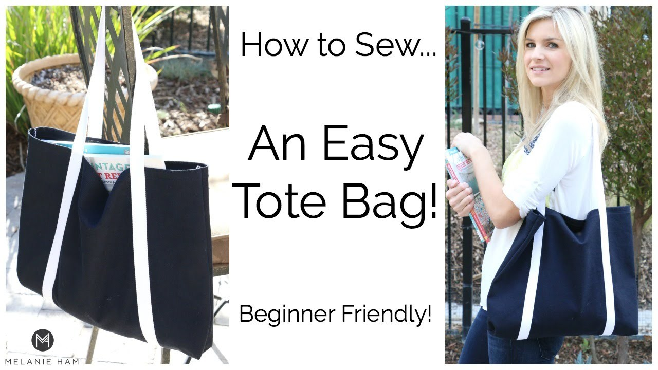 How to Sew an Easy Tote Bag