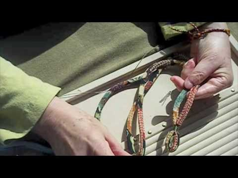 How to Silk Wrap Cord for Jewelry
