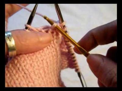 Knitting: Fix A Dropped Stitch