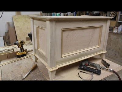 Make a blanket chest. Toy chest by Jon Peters
