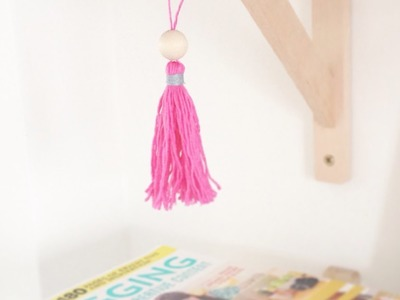 Make a Decorative Beaded Tassel - Crafts - Guidecentral