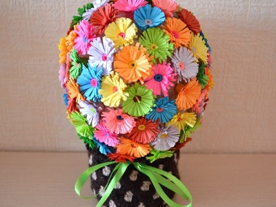 Make a Fun Paper Flower Bouquet - DIY Crafts - Guidecentral